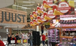 Reklaamipaigalduse täislahendus kaubanduskeskuse ulatuses
